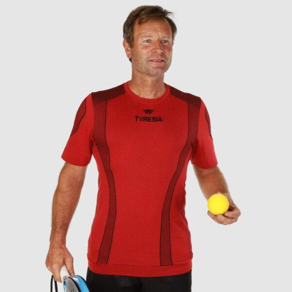 maglietta padel uomo tyresia